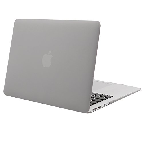 MOSISO MacBook Air 13 inch Case (Models: A1369 & A1466, Older Version 2010-2017 Release), Plastic Hard Shell Case Cover Only Compatible with MacBook Air 13 inch, Neutral Gray