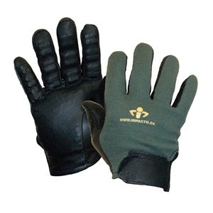 Anti-Vibration Gloves, Leather, M, PR