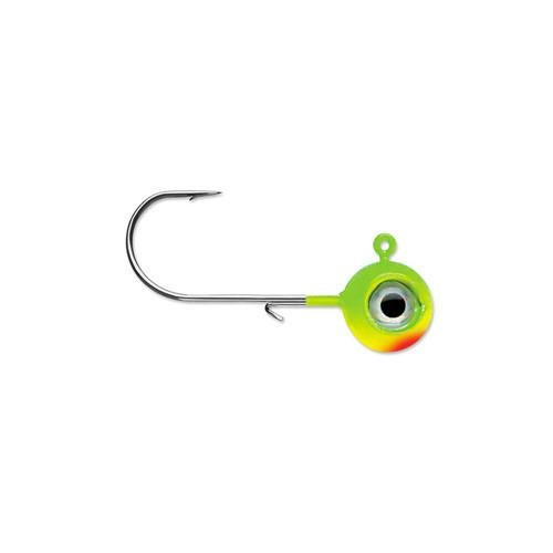Neon Eyes - Rapala Neon Moon Eye 1/4 Jig Fishing Lure (Chartreuse Lime Green)