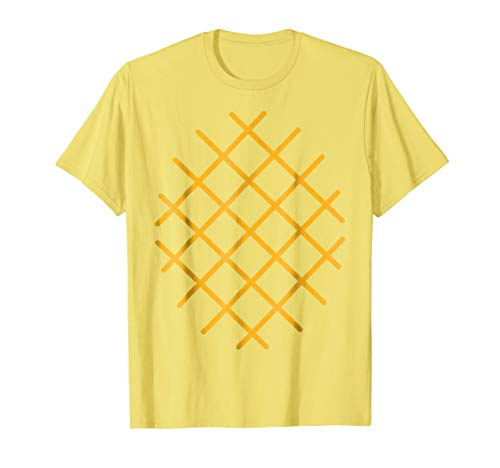 Pineapple Costume T-Shirt - Last Minute Halloween Costume -