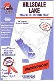 Hillsdale Lake Fishing Map (Kansas Fishing Series, M385)