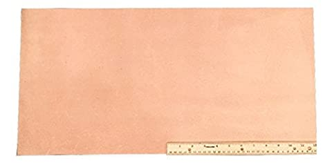 Leather Side Piece Veg Tan Split Medium Weight 12 X 24 Inches 2 Square Feet - 2 Side Foot
