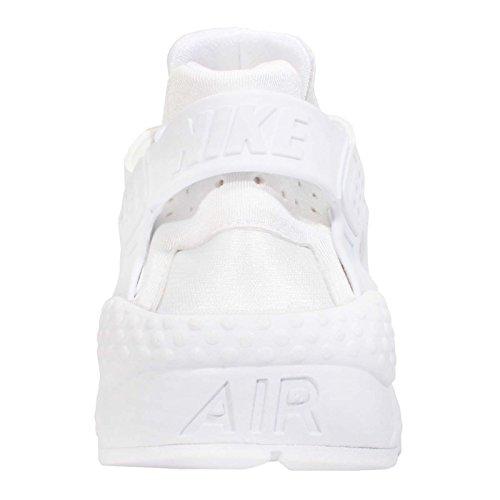 Aire Huarache Run, blanco / blanco, 6,5 nosotros blanco