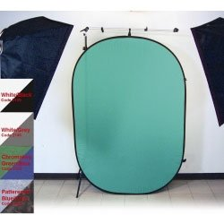 Promaster 6x7 Pop-up Background Green/Blue