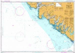 Ba Diagramm 4944  ucluelet (British Columbia) Einlass zu A Nootka Sound von UNITED KINGDOM Hydrographic Büro