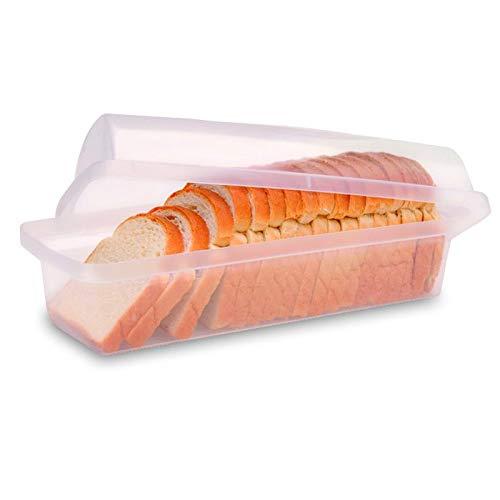 Porta Pão Sanremo Transparente plástico