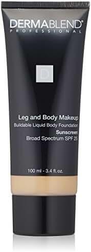 Dermablend Leg and Body Makeup Liquid  Foundation 0N Fair Nude, 3.4 fl. oz.