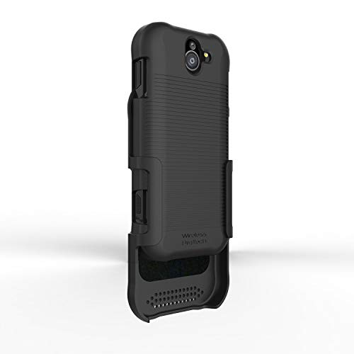 Kyocera DuraForce PRO 2 E6900 Series (E6910) Shell Case with Holster and Belt Clip Combo by Wireless ProTECH