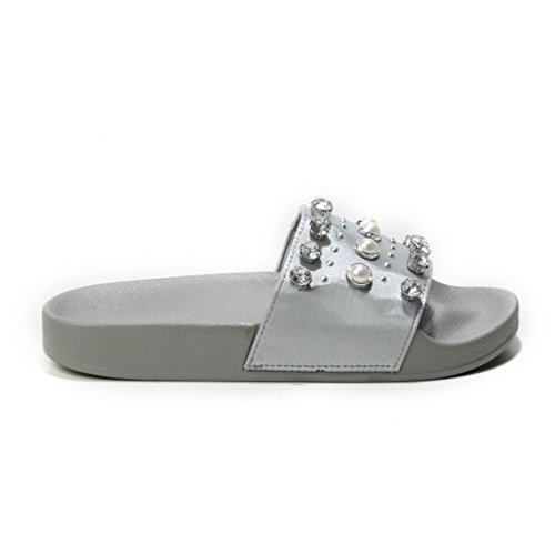 Gris Mules HERIXO Femme Mules Gris Femme HERIXO FxqH5wIR