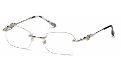Roberto Cavalli Eyeglasses RC718 Nevis 016 Size:55 Palladium/Black 718