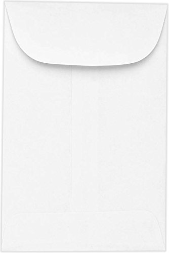 #7 Coin Envelopes (3 1/2 x 6 1/2) - 24lb. Bright White (250 Qty.) Envelopes.com