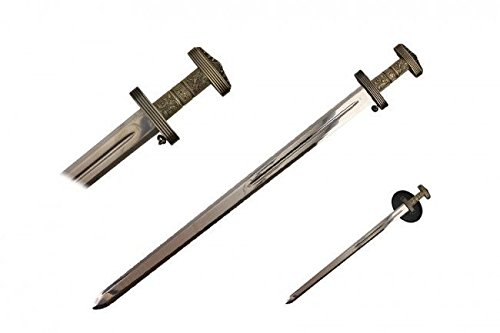 Viking Sword with Carbon Sharp Blade Durable 37
