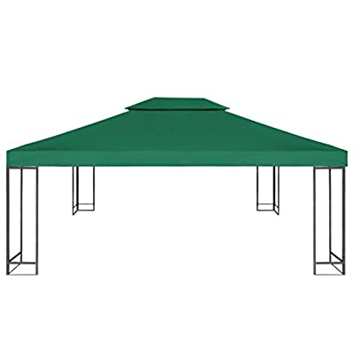 Gecheer Gazebo Cover Canopy Replacement 9.14 oz/yd² Green 10'x13' : Garden & Outdoor