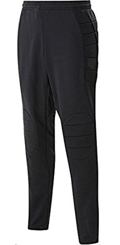 (CTY Youth Soccer Goalkeeper Pants Padded Black Goalie Black/YM 26)