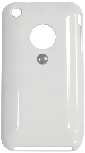 Tetrax 72025 XCase iPhone 3G and 3GS HTP Flex Cover with Integrated Metal Clip for Tetrax Holder, White
