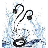 Flexible Waterproof Headphones for Swimming, Secure Fit Waterproof Earbuds for Running Diving, Surfing(Waterproof IPX8)