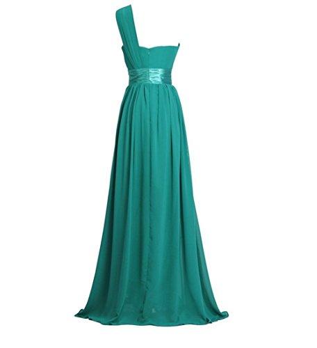 Lange kleider in grun