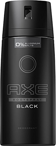 AXE DEODORANT BODY SPRAY BLACK NEW EDITION 150 ML - PACK OF