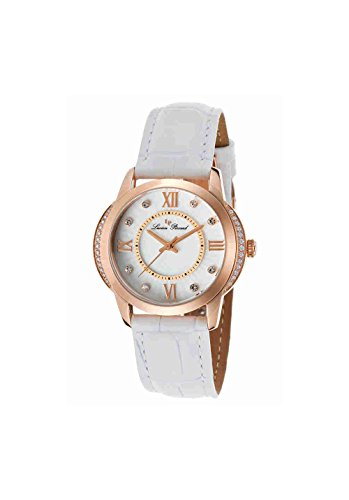 Lucien Piccard Women's LP-40001-RG-02S-WHT Dalida Analog Display Quartz White Watch