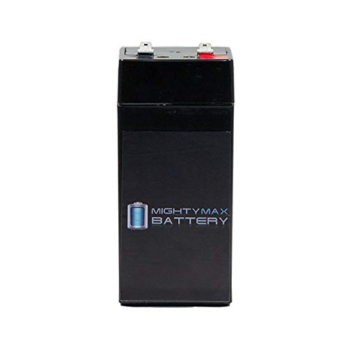 - Mighty Max Battery 4 Volt 4.5 Ah Sealed Lead Acid Battery for Fi-Shock ESP2M Brand Product