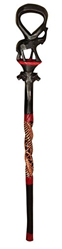 African Elephant Decorative Walking Stick