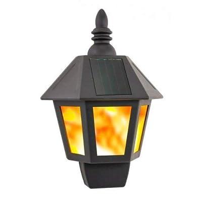 Solar Fire Wall Lantern