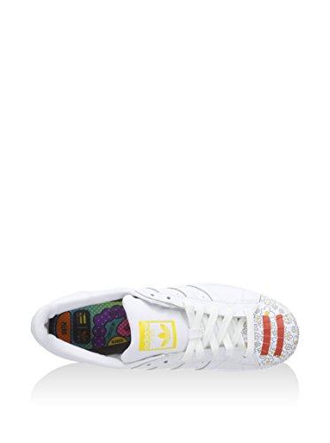Adidas Superstar Pharrell Supershell - Zapatillas para Hombre, Color Negro/Azul, Talla 42