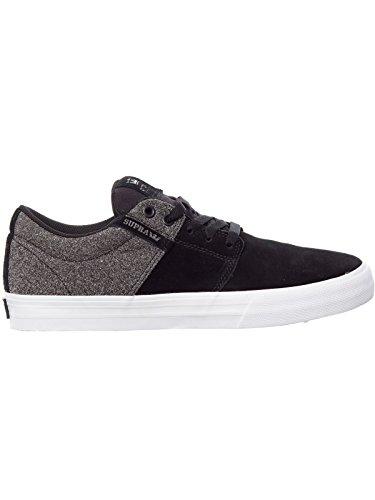 Uomo Nero da Sneakers Vulc Supra II Stacks nqXYUH