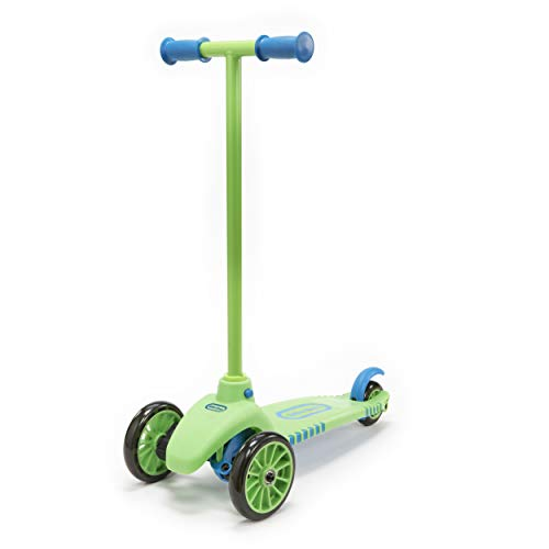 Lean To Turn Scooter- Green/ Blue