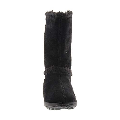 Timberland Black Mukluk Fur Women's Suede On Pull Boot r8wT61Hx8q