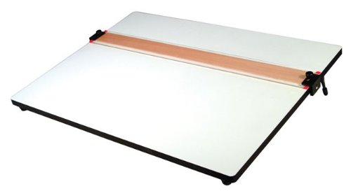 Helix PXB Drawing Board With Parallel Straight Edge, 18 Inch X 24 Inch, 1