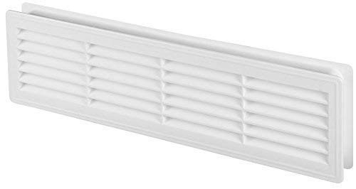 Bathroom Door Air Vent Grille 455mm x 135mm / 18
