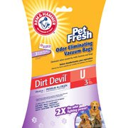 (Arm & Hammer Dirt Devil Pet Fresh Odor Eliminating Vacuum Bags, 6-Pack)