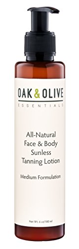 All Natural Self Tanning Lotion Face Head product image