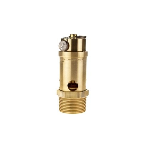 -65 Degree F Midwest Control SRV765-12-125 ASME Soft Seat Safety Valve 125 psi 1-1//4 4.47 Height 1-1//4 400 Degree F Temperature Range 4.47 Height