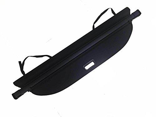 kaungka Cargo Cover Security Rear Trunk Cover Retractable Black for 2018 2019 GMC Terrain Chevrolet Equinox