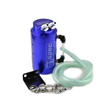 (Aluminum Oil Tank - Car Oil Can - Universal Car Accessories D1 SPEC Racing Oil Catch Aluminum Tank Can - Silver (Car Oil Tank))