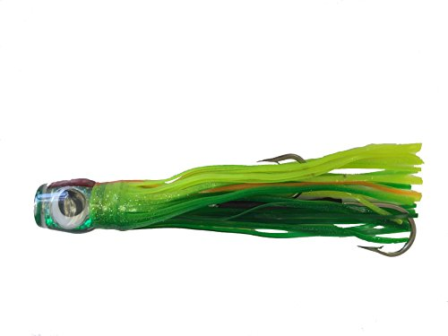 "Kona's ""MARLIN MONEY MAN"" Green Saltwater Fishing Lure"