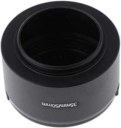 1.4 CCTV con Copriobiettivo per Obiettivo da 46 Mm Almencla 2 Pezzi 35mm Paraluce in Alluminio per Paraluce in Metallo per Obiettivi 35mm F 1.7 50mm F
