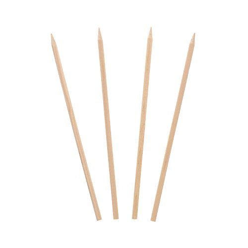 Royal 5.5'' x 3/16'' Wood Skewers for Grilling Meat, Satays, and Skewered Vegetables, Case of 10,000 by Royal