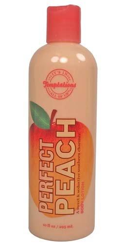 (Bath & Body Works Temptations Perfect Peach Body Lotion 10 oz)