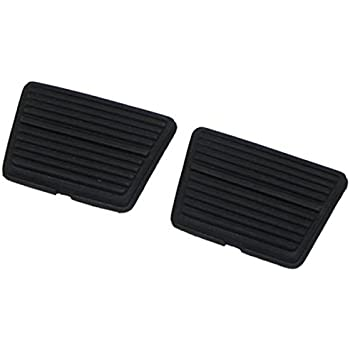 (J-6-1) Inline Tube Brake and Clutch Pedal Pads Compatible with 1964-88 GM Vehicles
