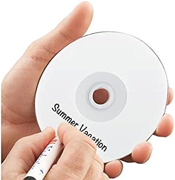 Verbatim Cd-R 700mb 52x White Inkjet Printable Hub 100//pk Spindle 95252 NEW