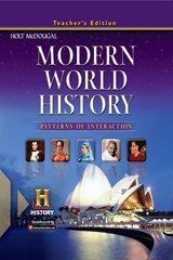 Modern World History: Patterns of Interaction: Teacher Edition Modern 2012 by HOLT MCDOUGAL (2010-12-31)