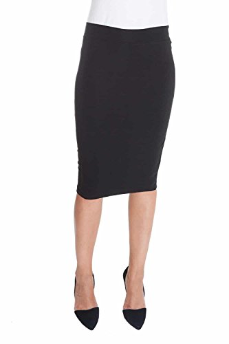 Women's Pencil Skirt - Modest Stretchy Below The Knee - Chicago
