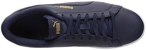 Puma Uomo Smash Pelle V2 Più Sneaker Peacoat-peacoat