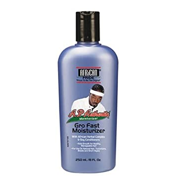 African Pride Authentic Gro Fast Moisturizer 8.45 oz. (Pack of 6) BRTC Pore Magic Heating Gel, Pore Exfoliating and Tightening Massage System With Fresh Volcanic Cluster Gel Type Of Blackhead and Blemish Cleanser - 35 mL