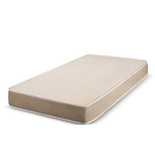 Fortnight Bedding 4 inch Foam Mattress with Durable Fabric Cover - Twin Size - CertiPUR-US Certified - Made in ()