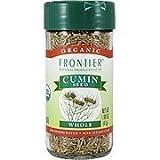 Frontier Cumin Seed Whole ORGANIC 1.68 oz. Bottle - 2PC