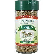 Frontier Cumin Seed Whole ORGANIC 1.68 oz. Bottle - 3PC